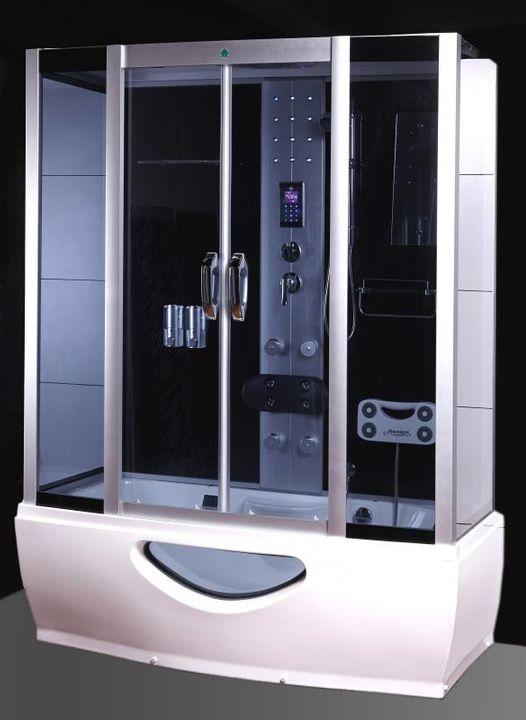Shower Jacuzzi Tub Sauna Furniture Steam Bath Cabin Radio Pc Ita