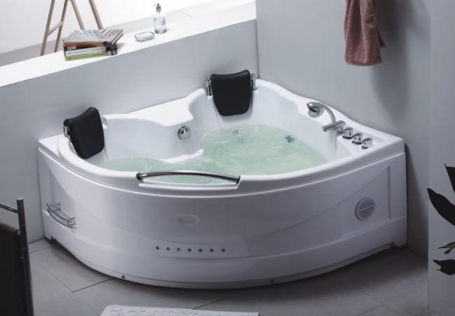 Vasca Da Bagno Doppia.Vasche Vasca Idromassaggio Doppia Bagno 150x150 22getti Ebay