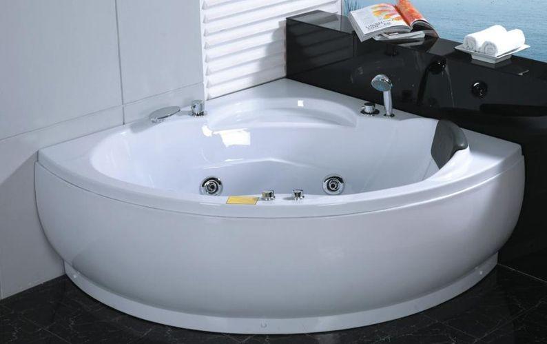 Vasche Vasca Idromassaggio Arredo Bagno 135x135 7 Idrogetti Pompa Italia Ebay